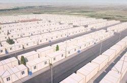 Projekt mieszkalnictwa kontenerowego dla syryjskich uchodźców