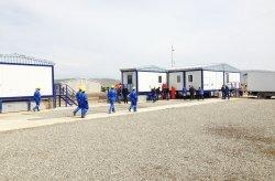 Prefabrykowane budynki architektoniczne dla projektu Shahdeniz-2 w Azerbejdżanie