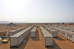 Wznosimy plac budowy dla pracowników kopalni złota w Gwinei