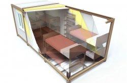 kontener socjalno biuro 5x2 5