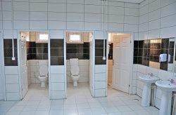 Prefabrykowana jednostka WC z prysznicem