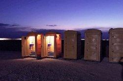 Przenośna toaleta z polietylenu