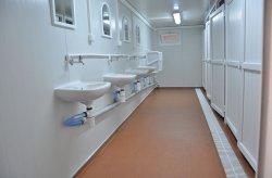 Toaleta/Kontener prysznicowy